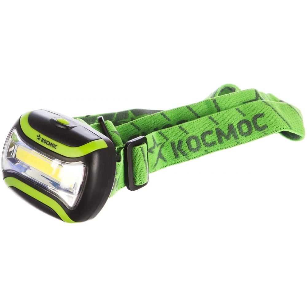 Купить Светодиодный налобный фонарь космос koc-h3wcobled 3вт коб 417214