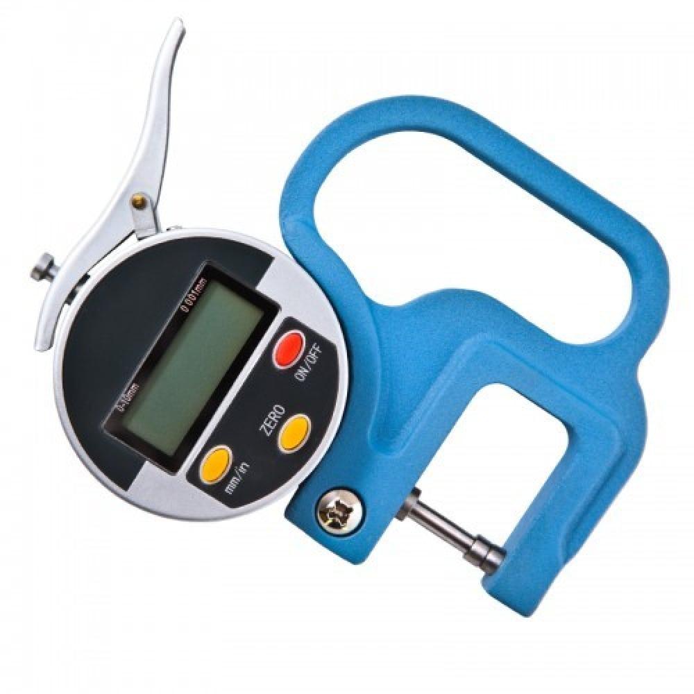 Индикаторный электронный толщиномер griff 0-10 мм, 0.01 мм, l30 мм d141021  - купить со скидкой