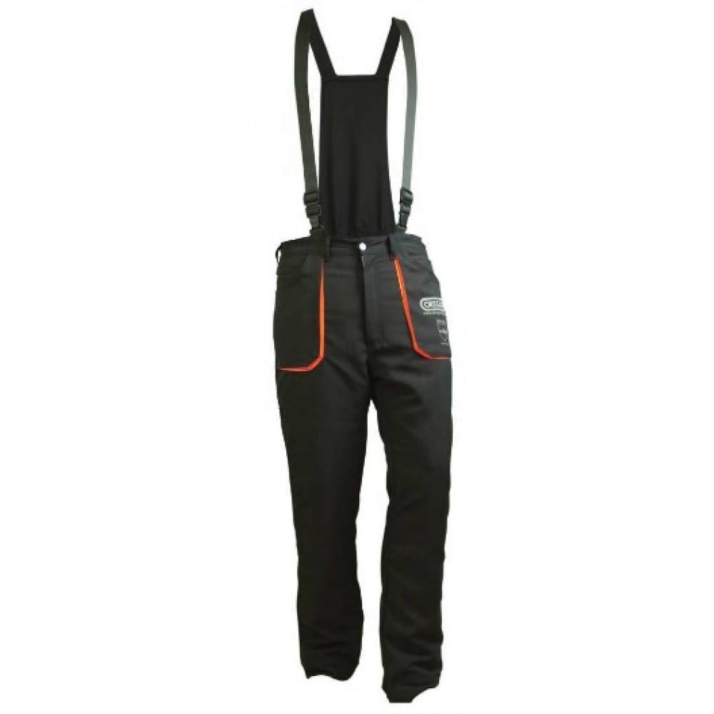 Защитные брюки с подтяжками oregon yukon тип a размер l 295445/l