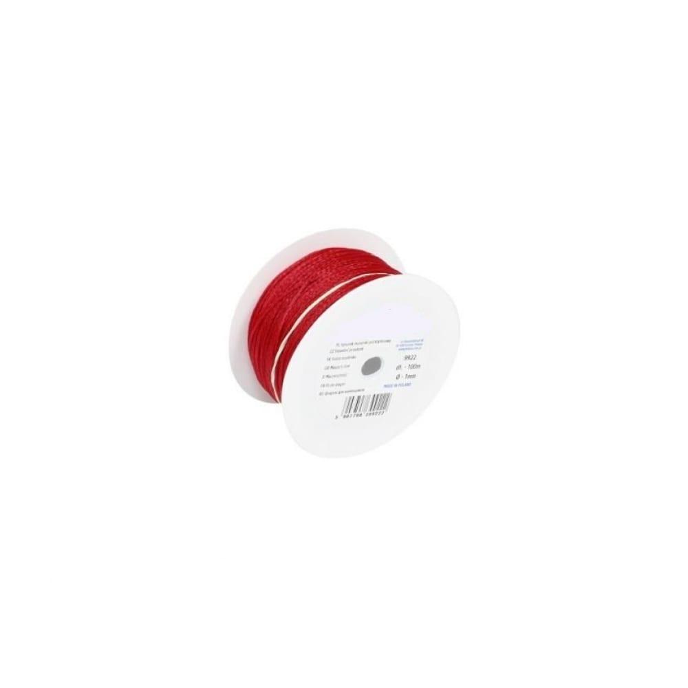 Разметочный шнур corte 9928c (цвет красный, длина 50м, диаметр 1мм)