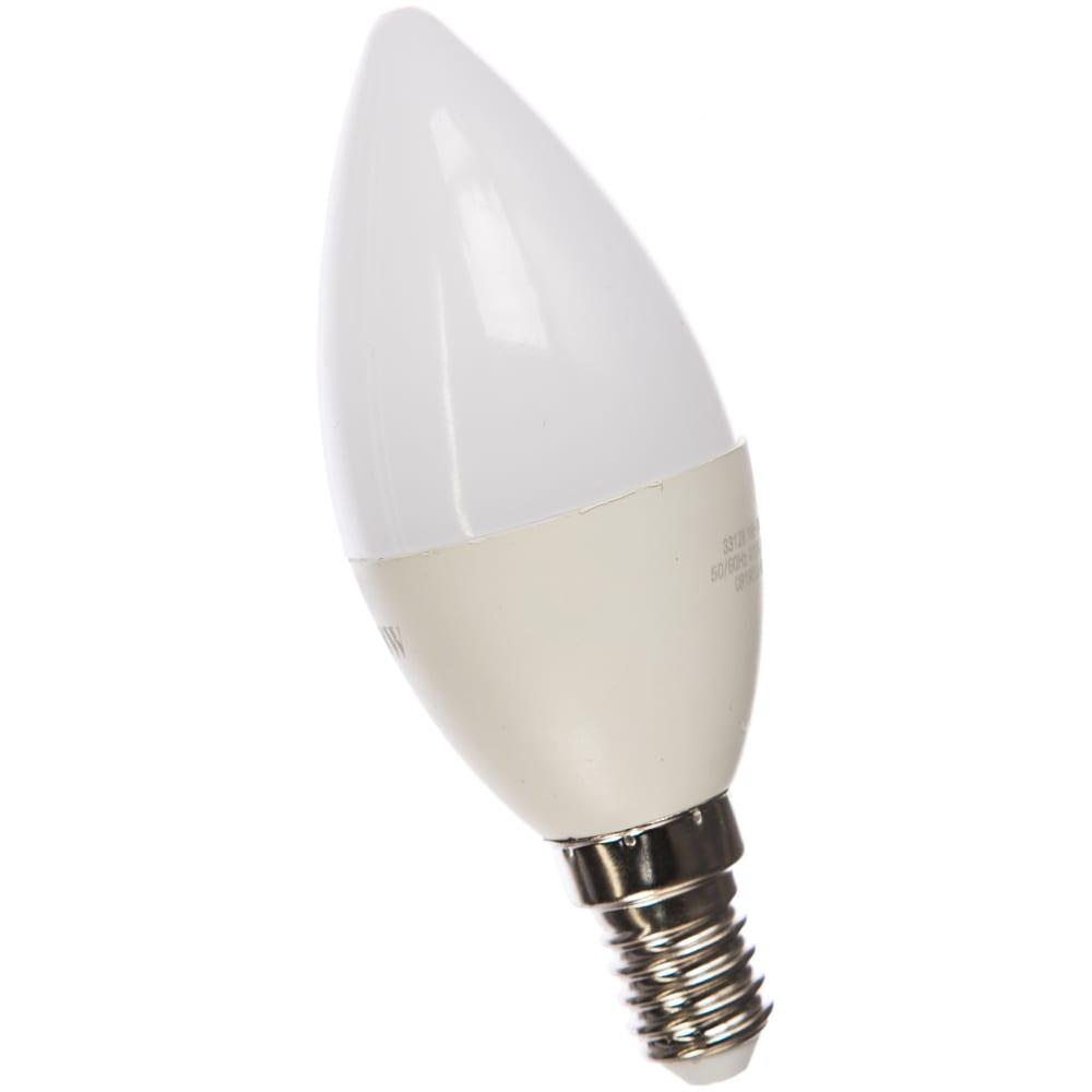 Купить Лампа led candle 8w e14 4100k gauss elementary 33128