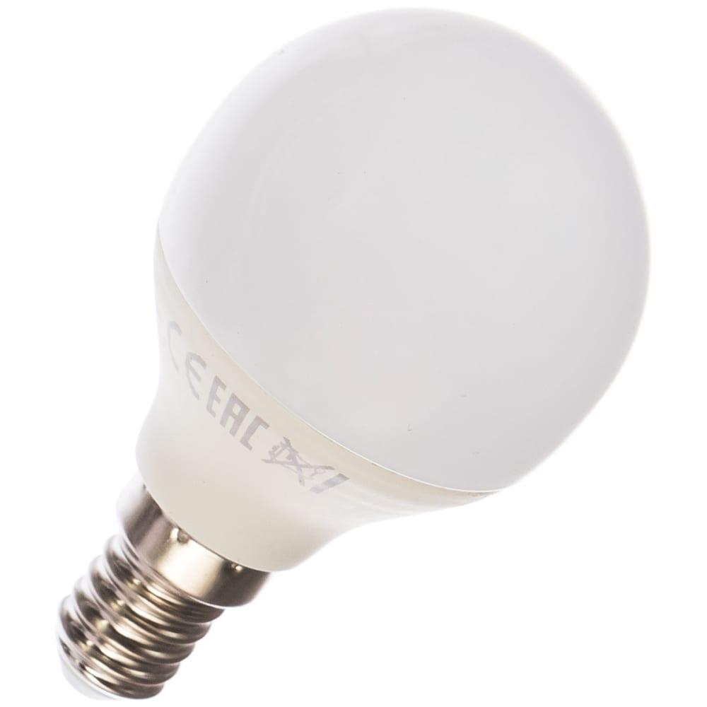 Купить Лампа led globe 6w e14 4100k gauss elementary 53126