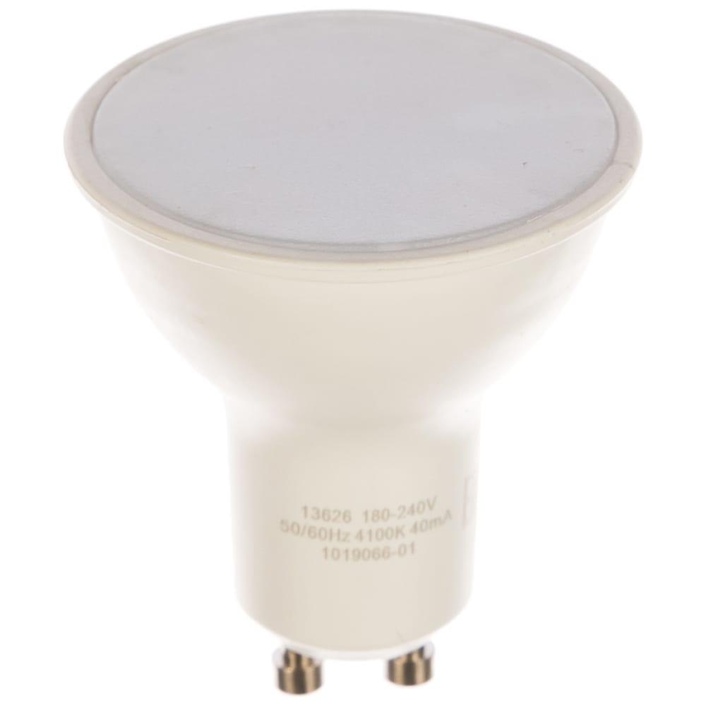 Купить Лампа led mr16 gu10 5.5w 4100к gauss elementary 13626