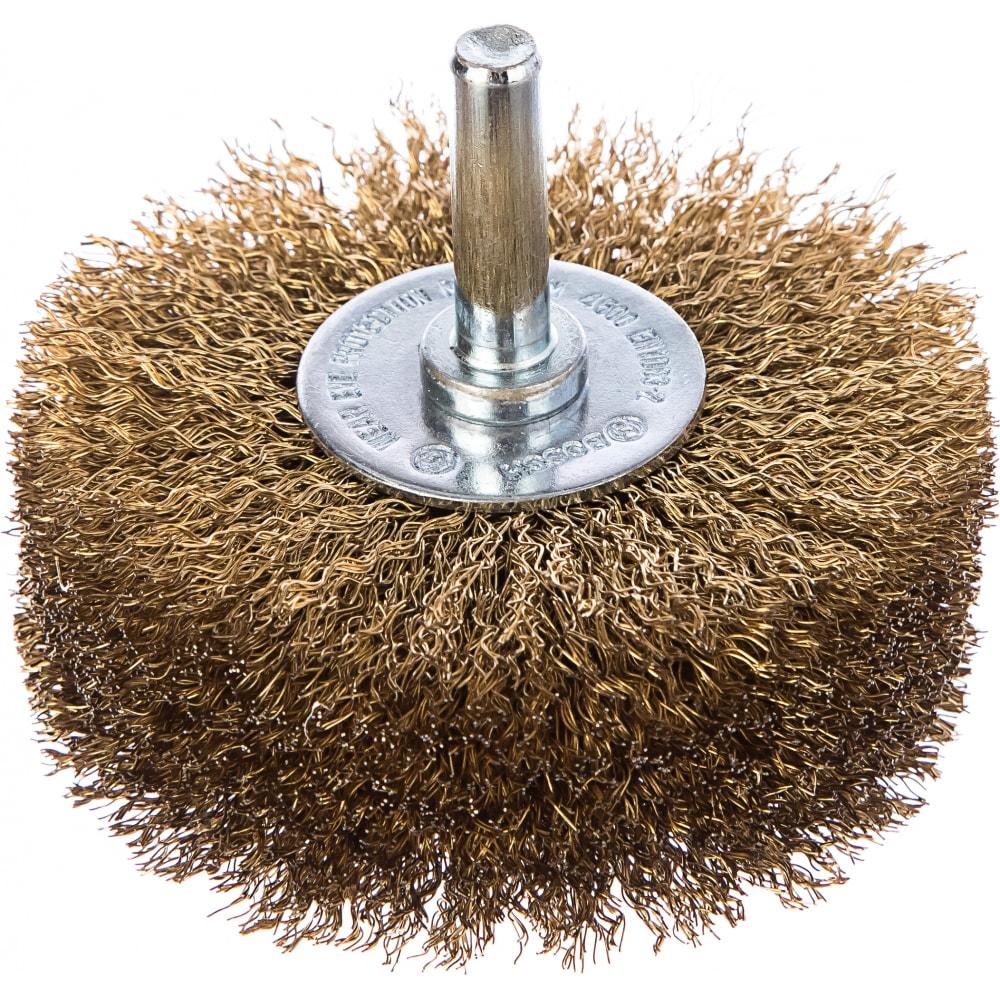 Купить Щетка кольцевая (80 мм; хвост. 6мм) витая латунная bosch 2608622130