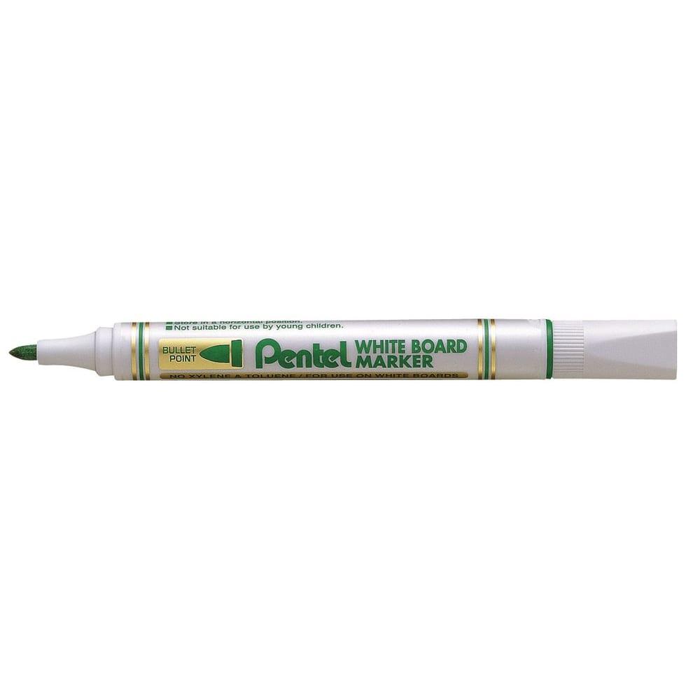 Купить Маркер для досок pentel зеленый, 4.2 мм mw85-d