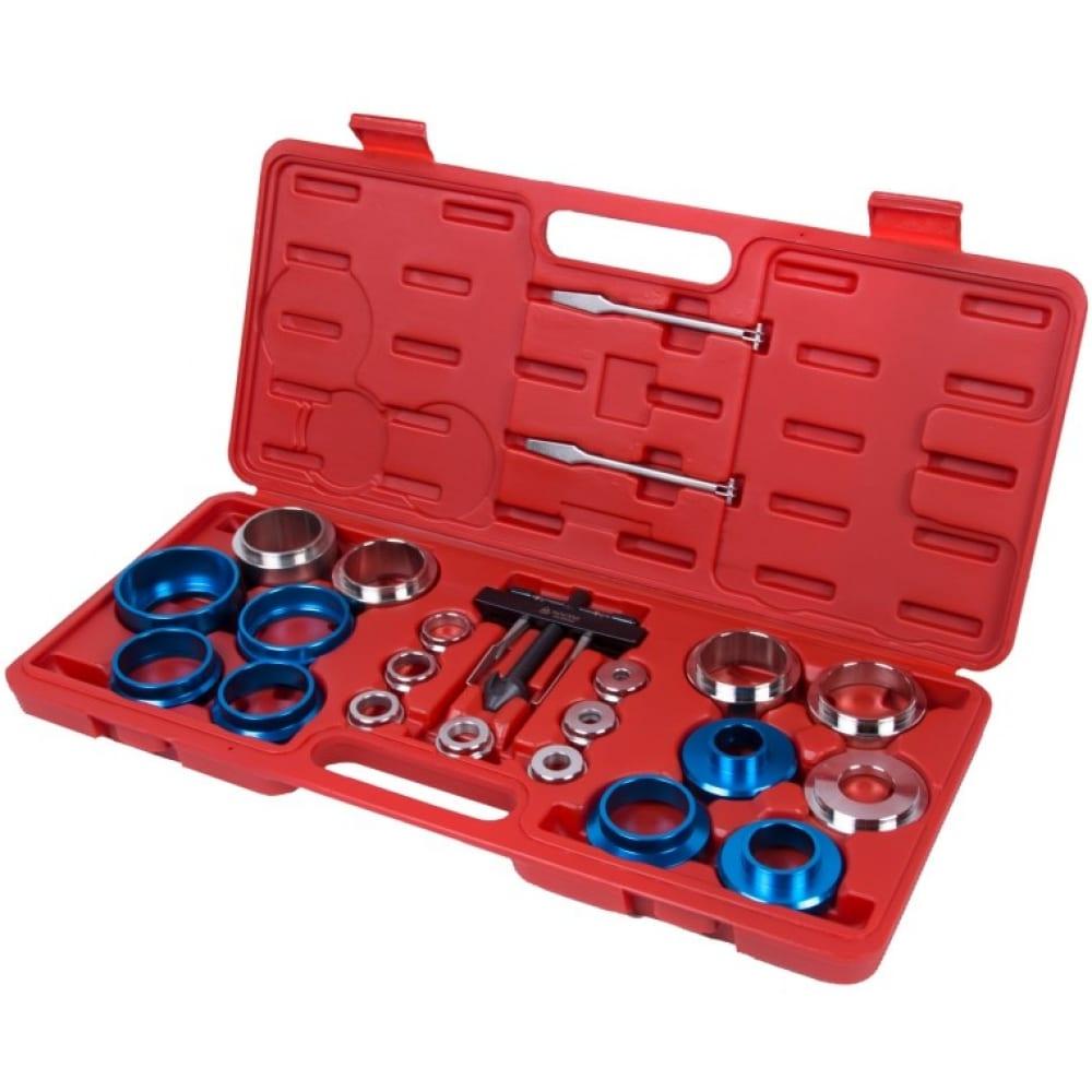 Купить Набор оправок для монтажа и демонтажа сальников, 27-58 мм 22 предмета мастак 103-80022c