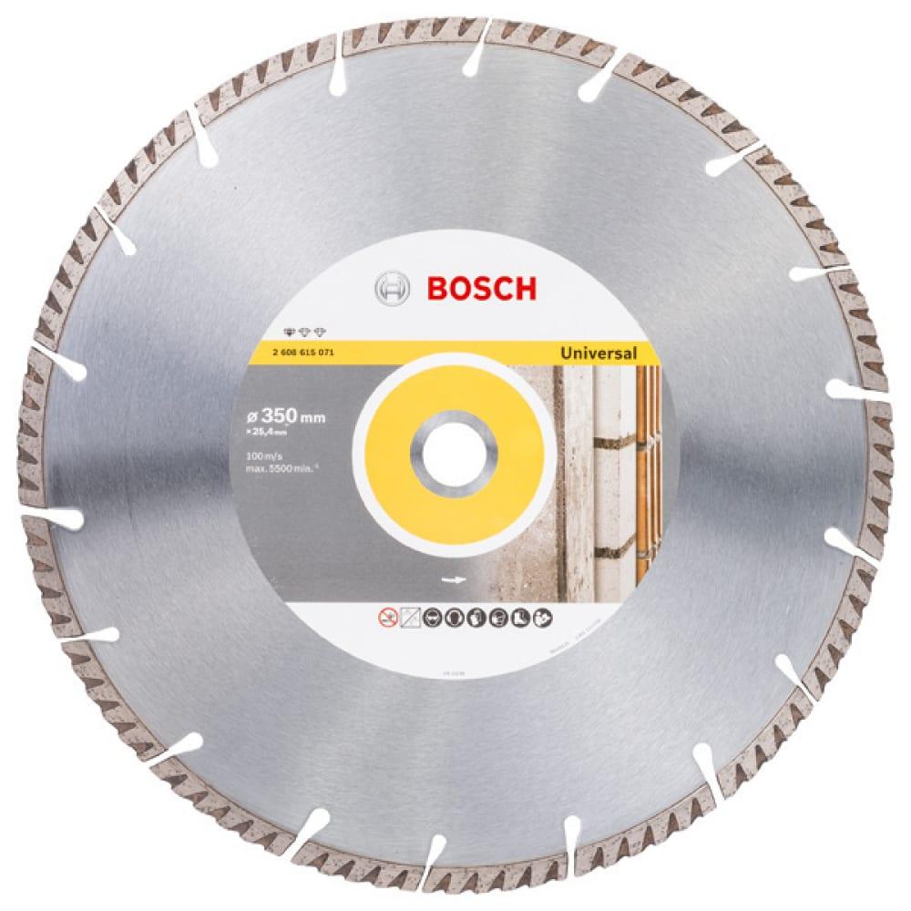 Купить Диск алмазный universal (350х25.4мм) bosch2608615071