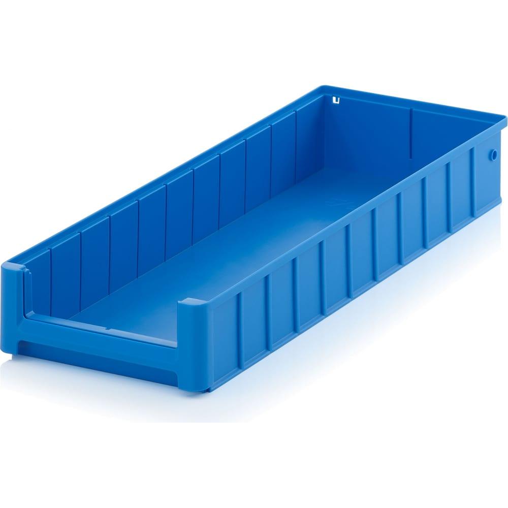 Купить Стеллажный лоток 600х234х90 мм пластик система 12.344.65