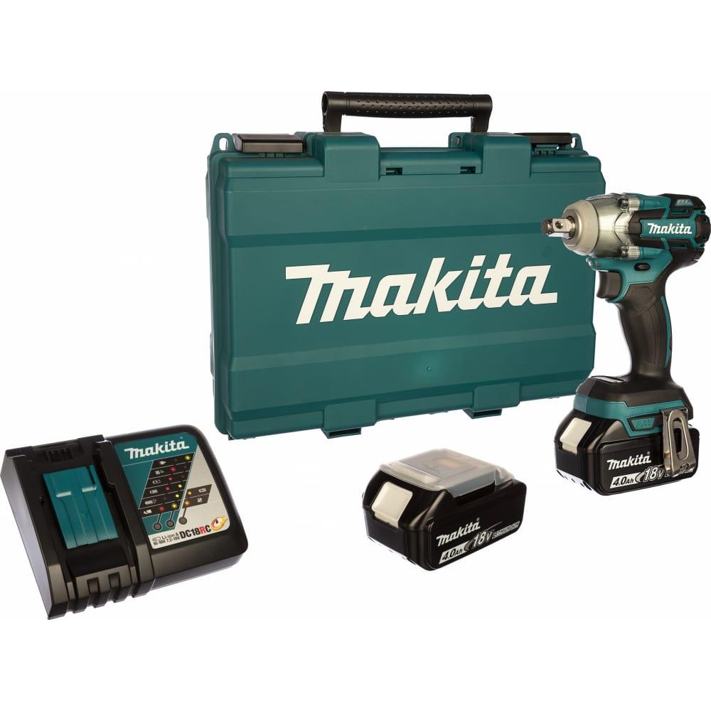Купить Аккумуляторный ударный гайковерт makita dtw285rme