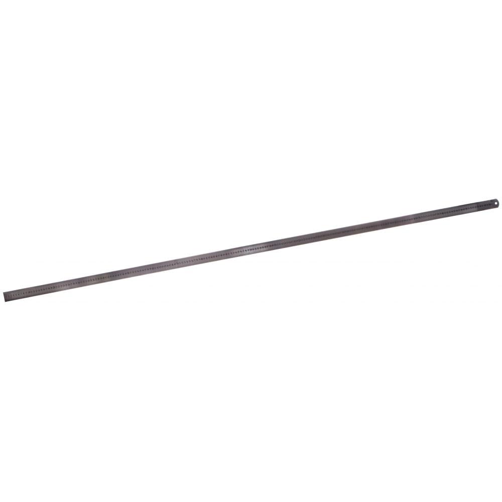 Линейка металлическая с двусторонней шкалой 2000х39мм griff d112026