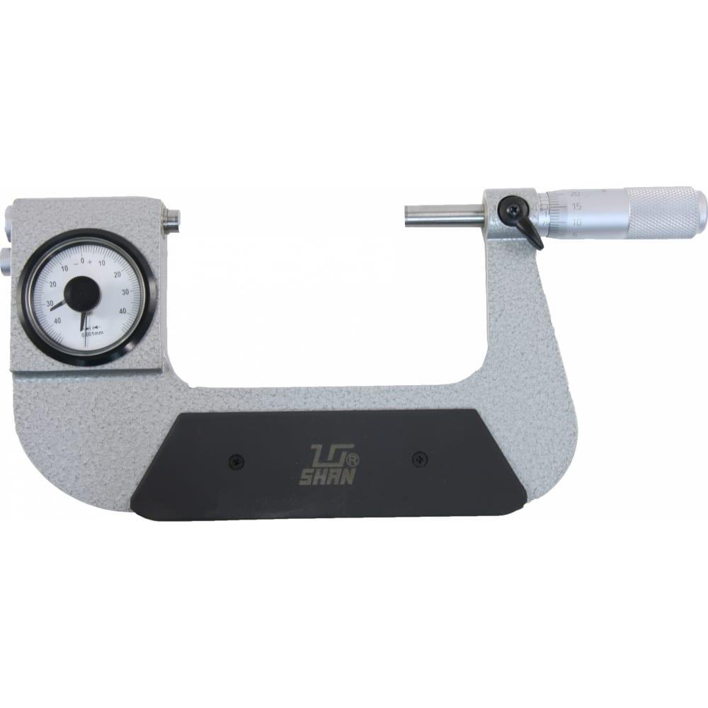 Рычажный микрометр shan мр-75 136291