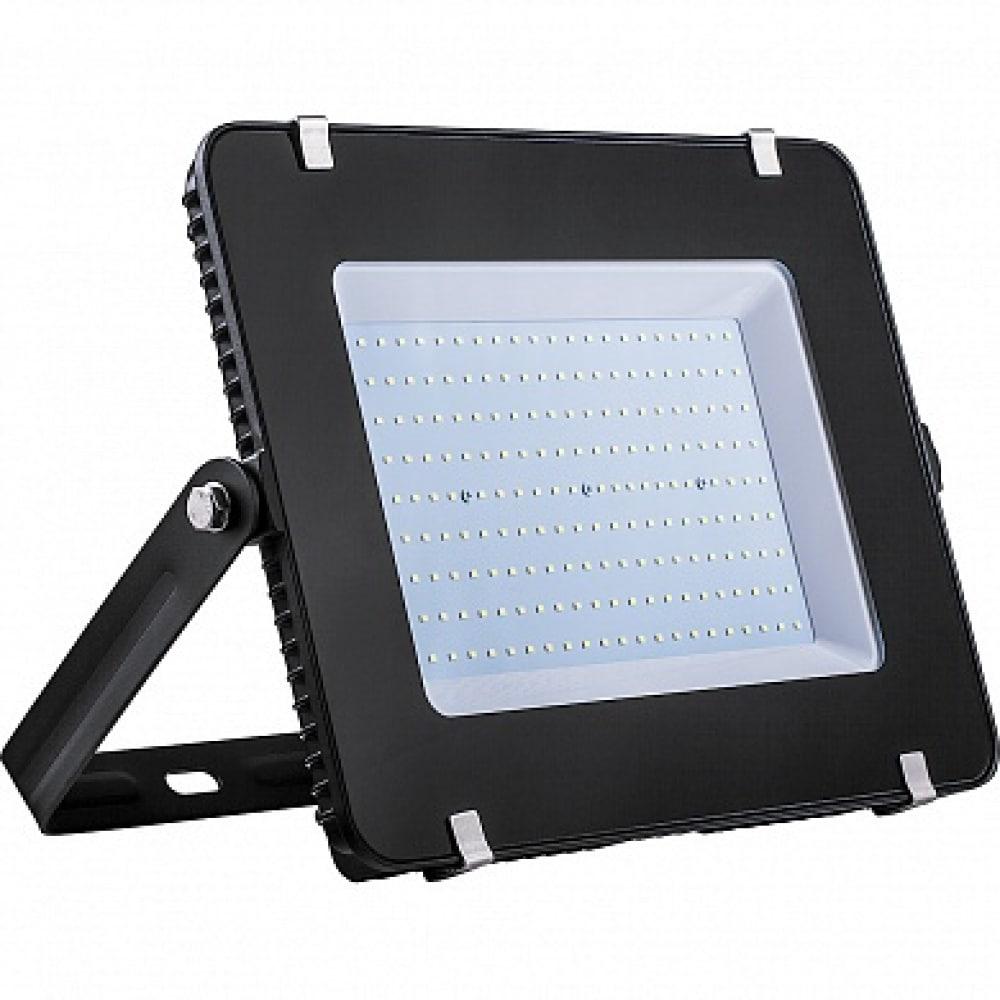 Купить Светодиодный прожектор 2835 smd 150w 6400k ip65 ac220v/50hz, черный с матовым стеклом feron ll-923 32104