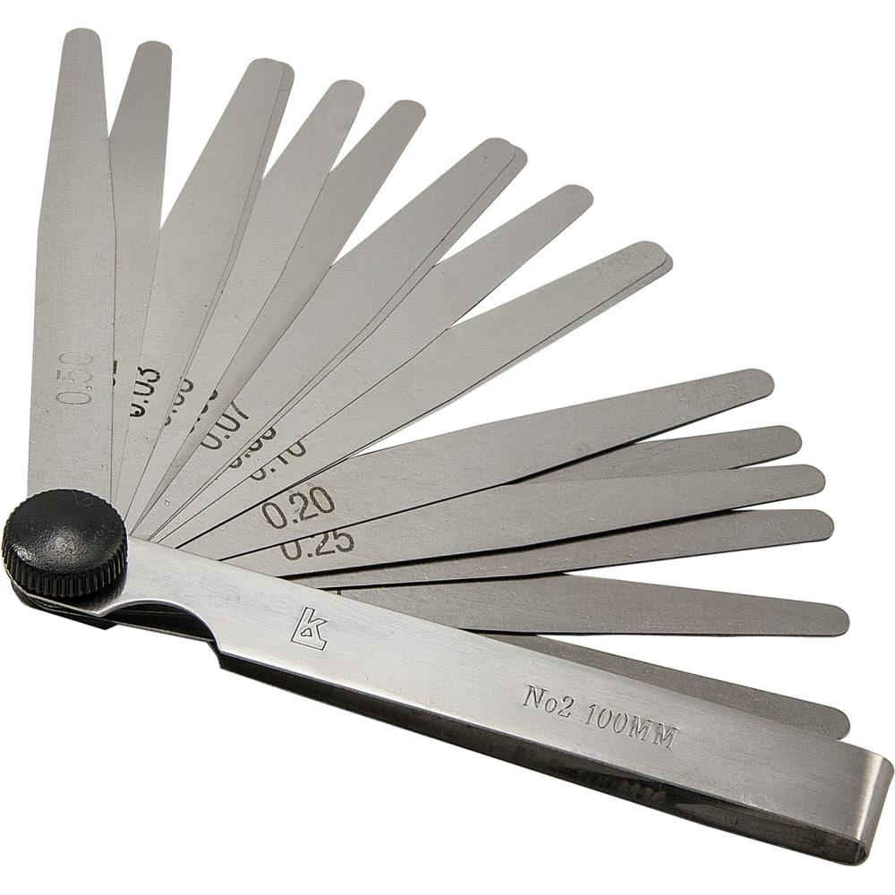Купить Набор щупов №2 100 мм 1 класс точности калиброн 134879