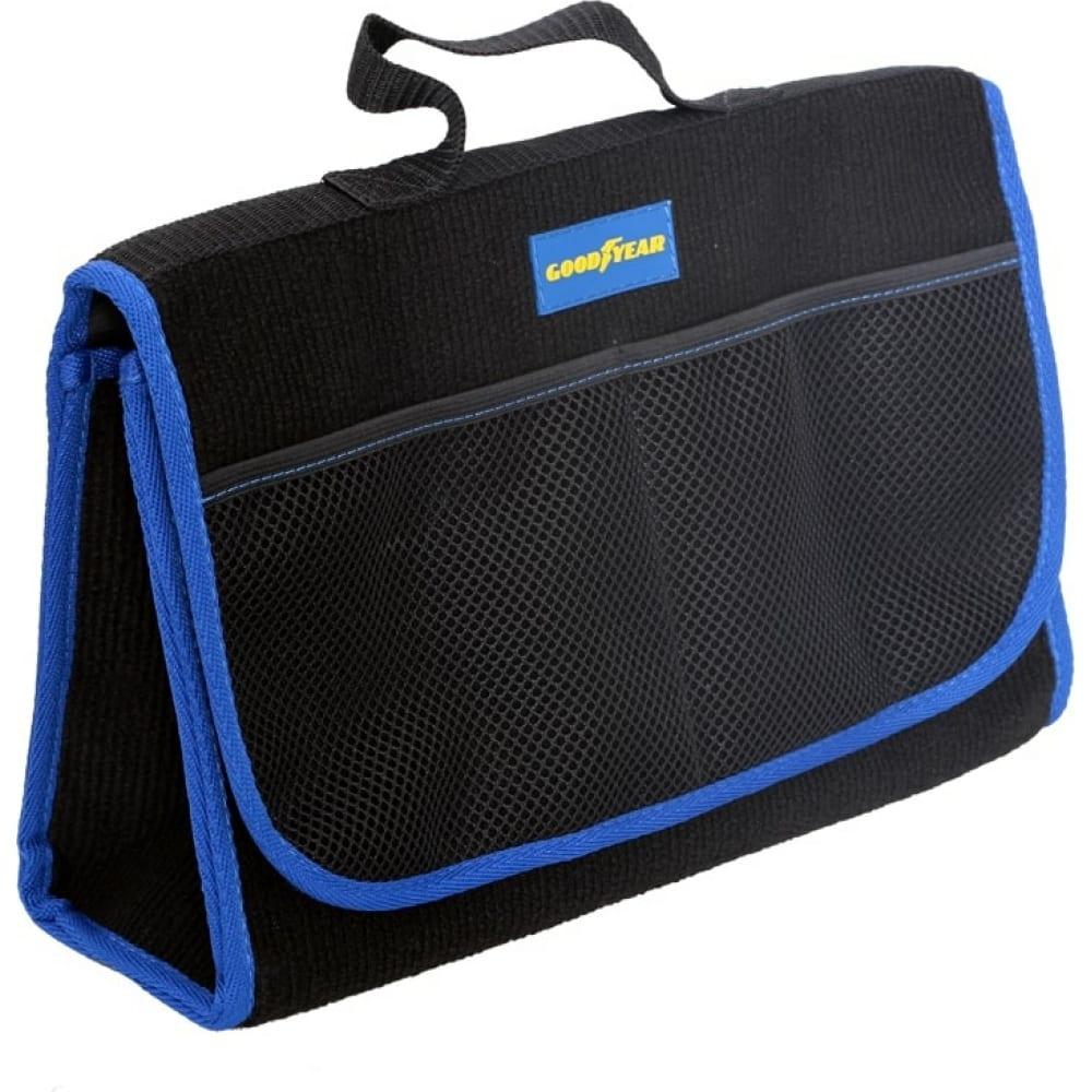 Сумка-органайзер из карпета в багажник goodyear gy001007  - купить со скидкой