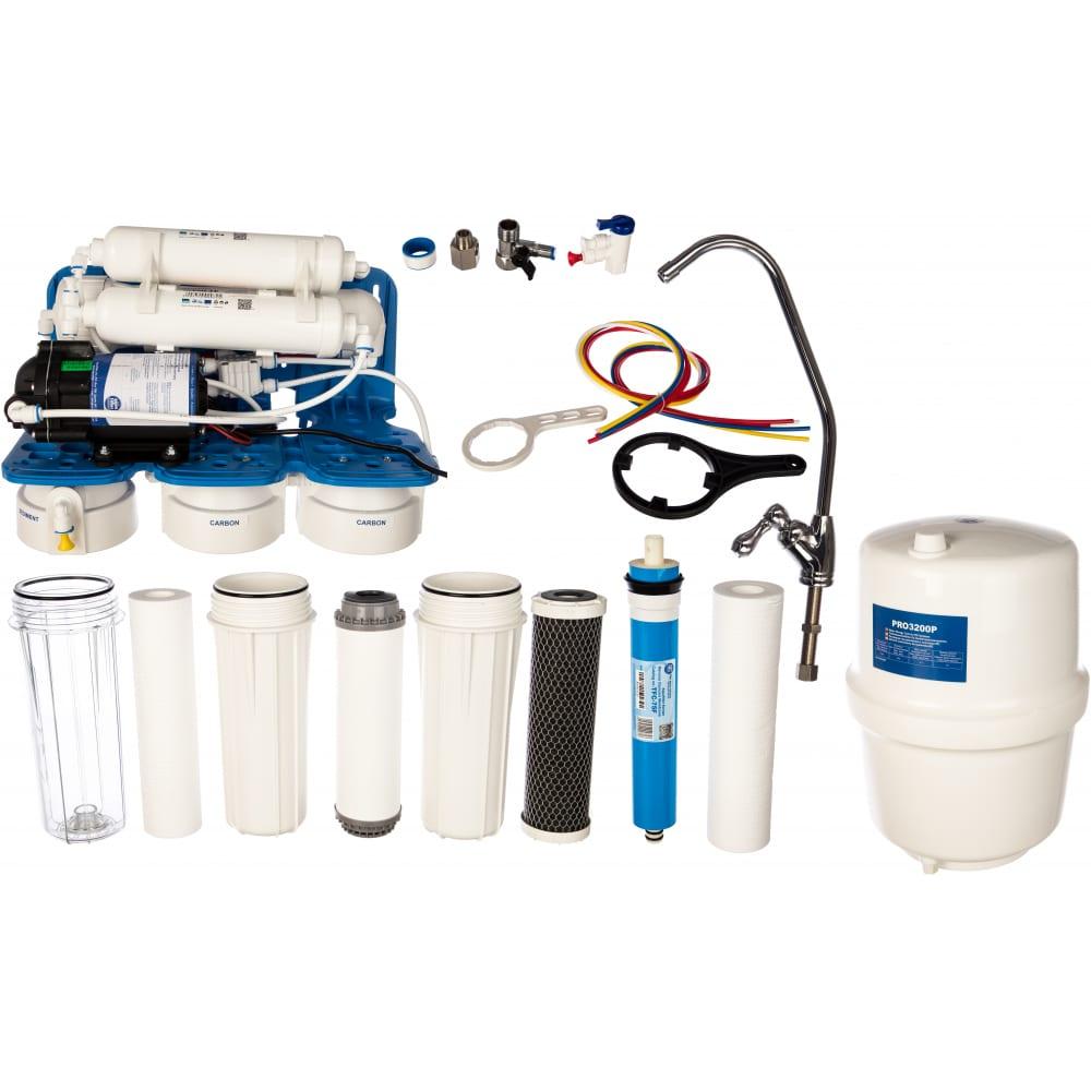 Купить Шестиступенчатая система обратного осмоса aquafilter rp942141xx минерализатор, насос rp65139715. 521