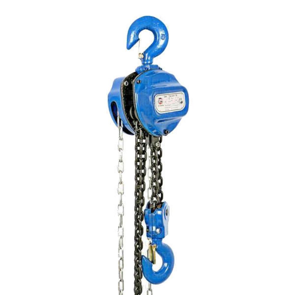 Купить Ручная шестеренная стационарная таль euro-lift тв 00000603 (5 т, 12 м)
