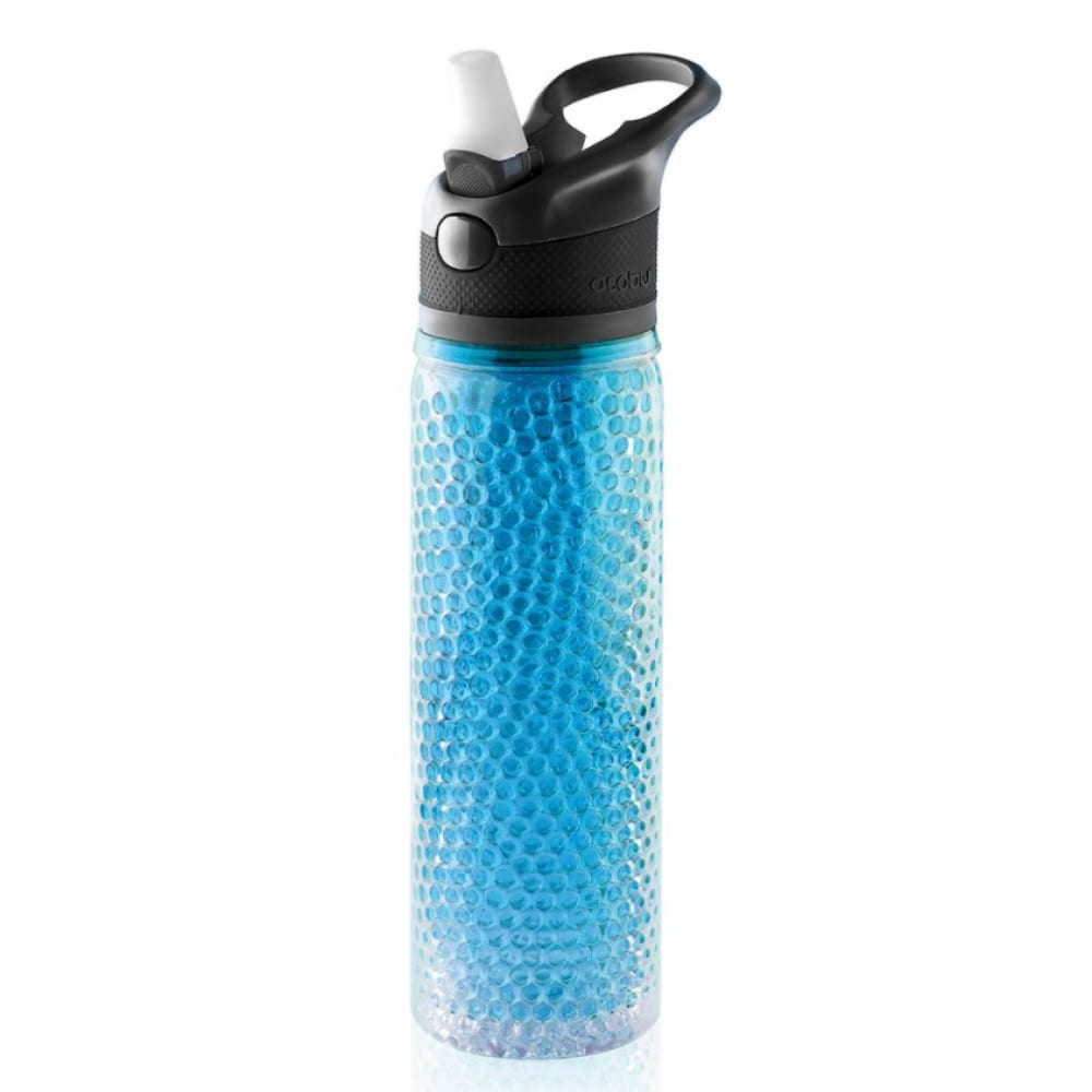 Термобутылка asobu deep freeze 0.6 л, голубая