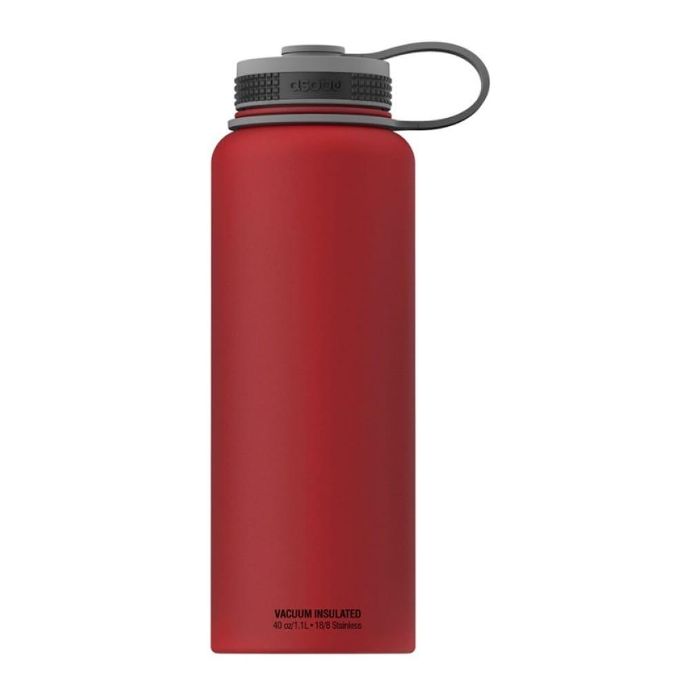 Термобутылка asobu the mighty flask 1.1л, красная