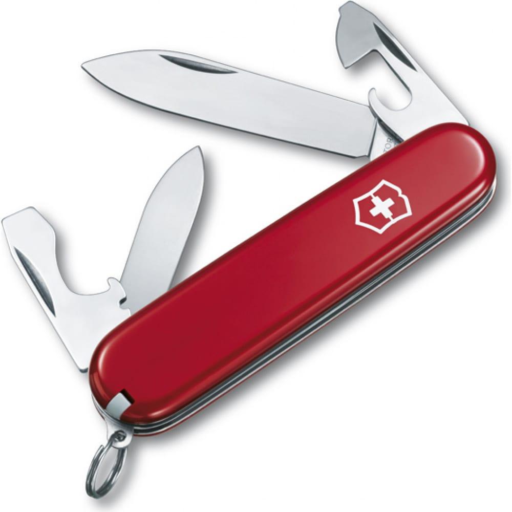 Швейцарский нож красный victorinox recruit 0.2503  - купить со скидкой