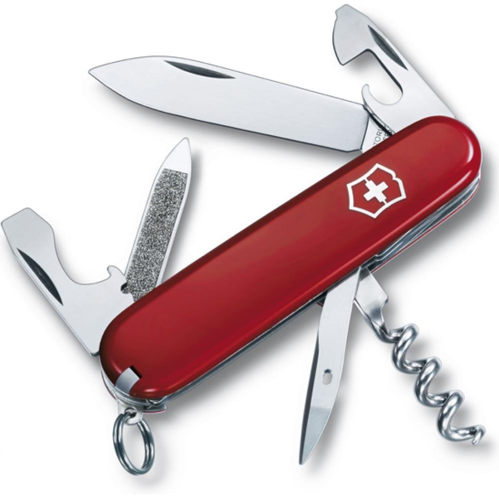 Купить Швейцарский нож красный victorinox sportsman 0.3803