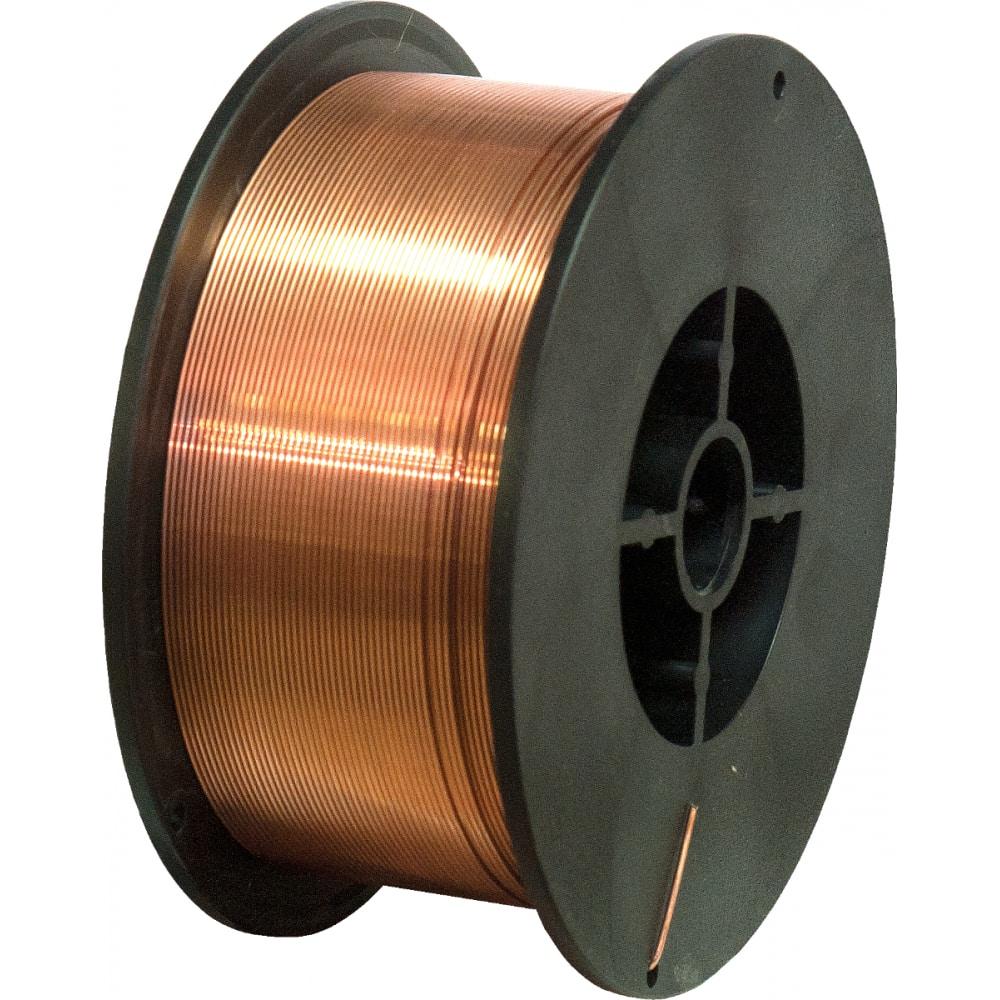 Проволока сварочная омедненная er-70s-6 (5 кг; 0.8 мм) кратон 1 19 02 007
