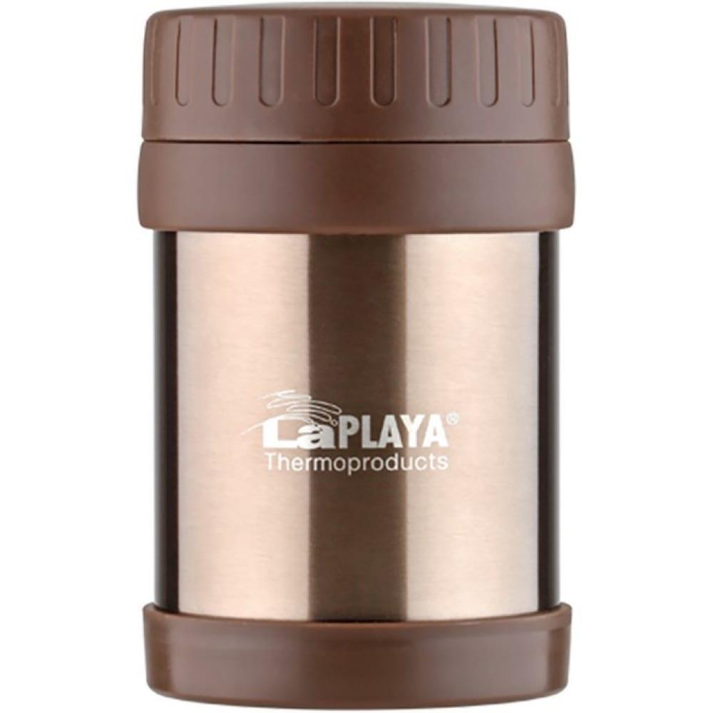 Термос laplaya food container 0.35 л, коричневый