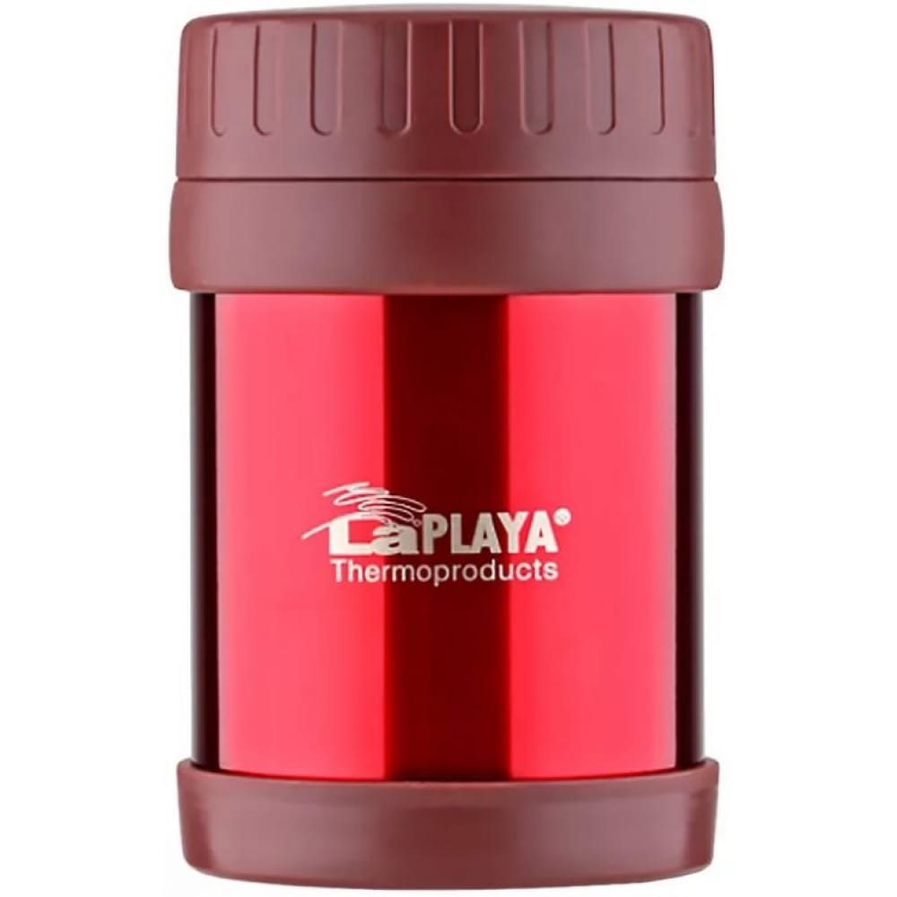 Термос laplaya food container 0.35 л, красный