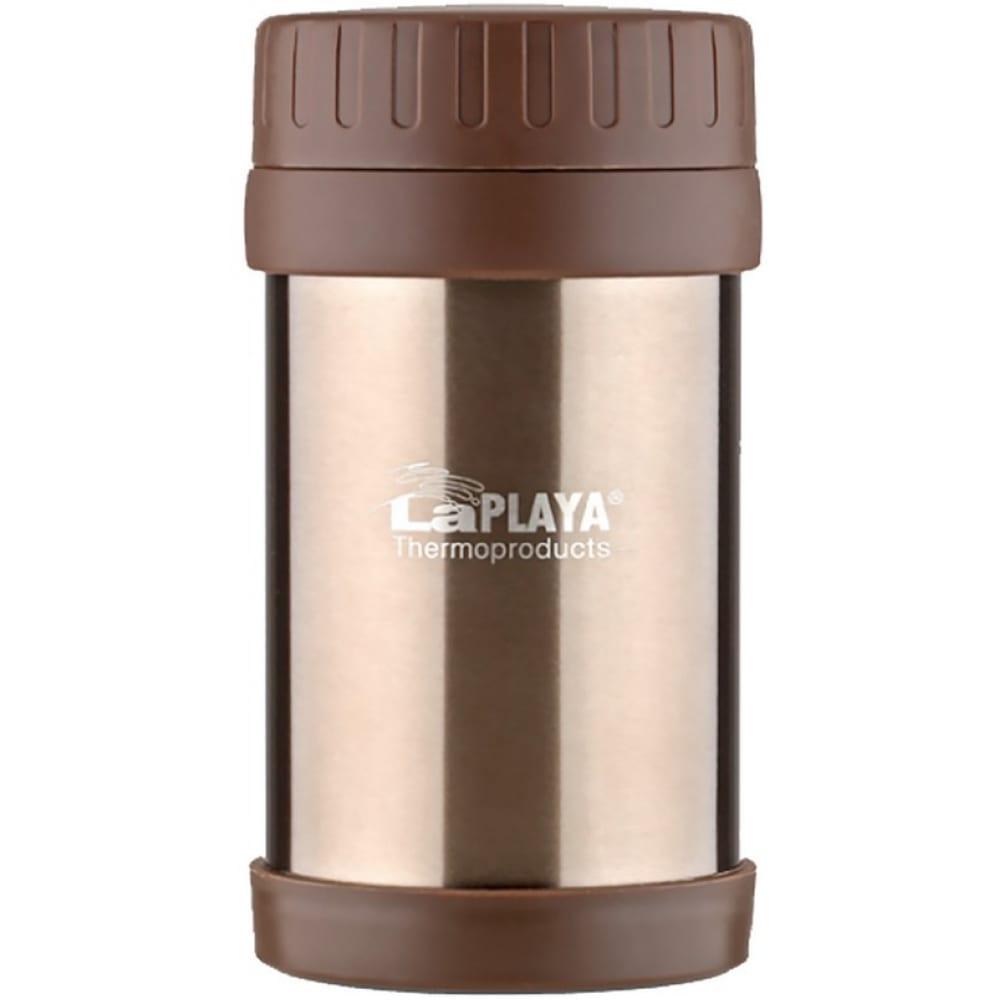 Термос laplaya food container 0.5 л, коричневый