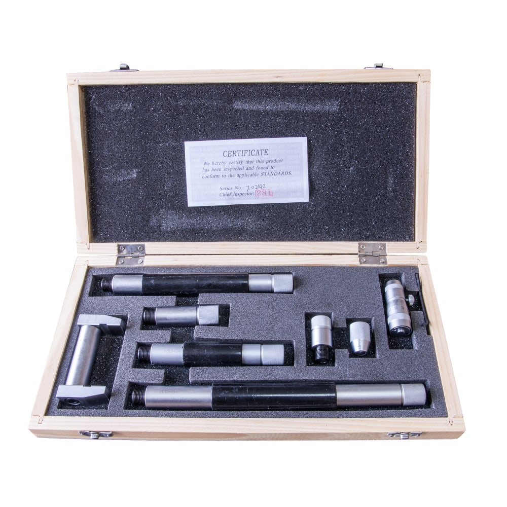 Микрометрический нутромер нм 50-600 0.01 shan 136306