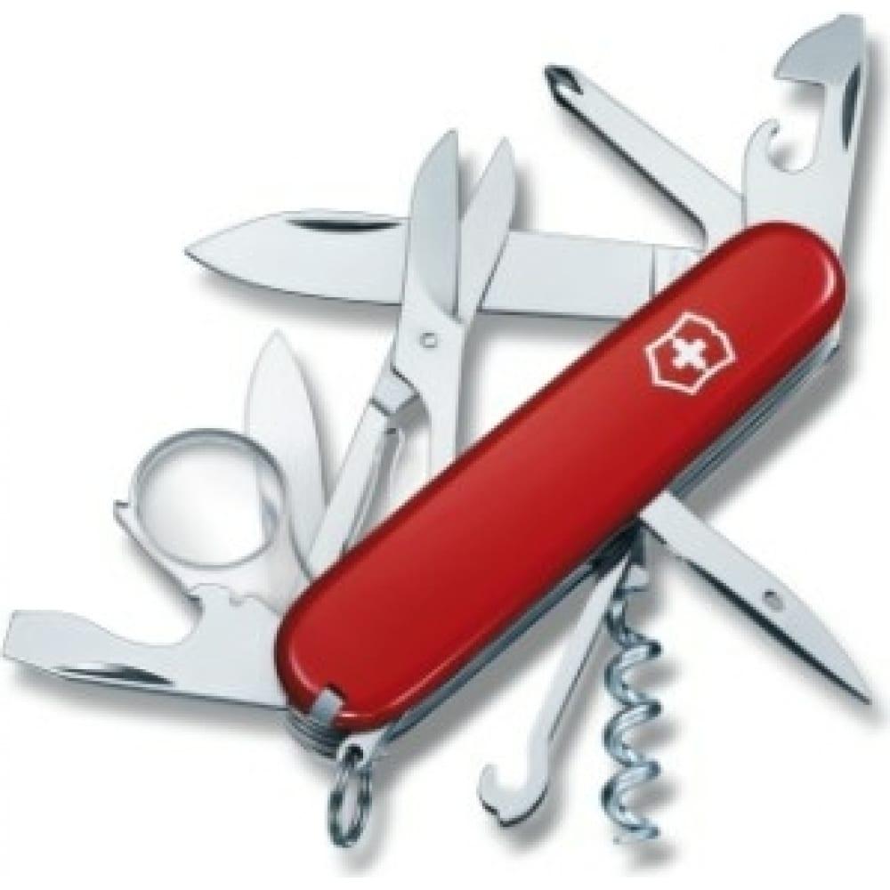 Швейцарский нож victorinox explorer 1.6703 красный  - купить со скидкой
