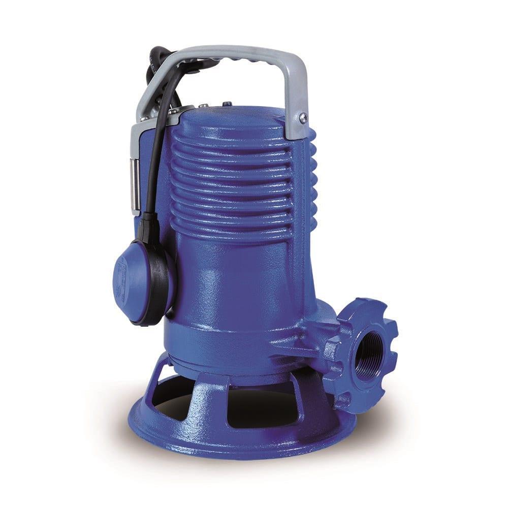Погружной фекальный насос с режущим механизмом zenit gr blue p 200/2/g40h a1cm/50 301695  - купить со скидкой