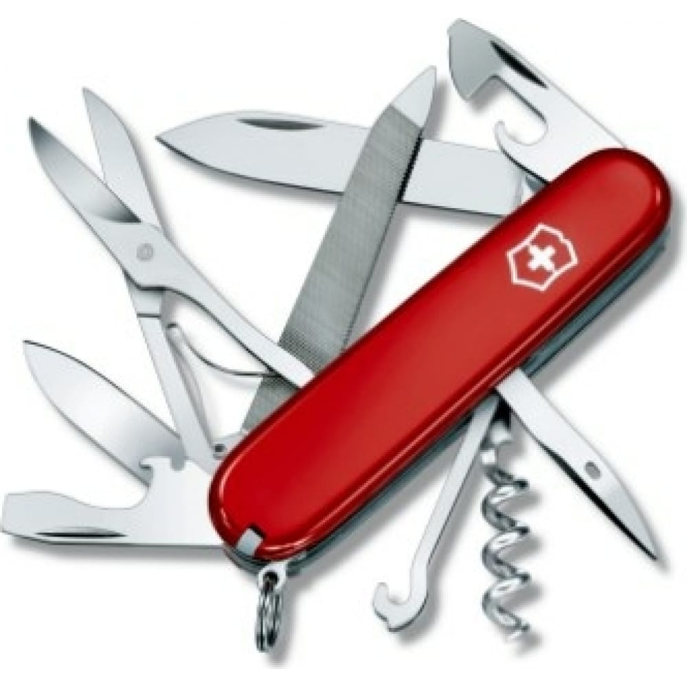 Купить Швейцарский нож victorinox mountaineer 1.3743 красный