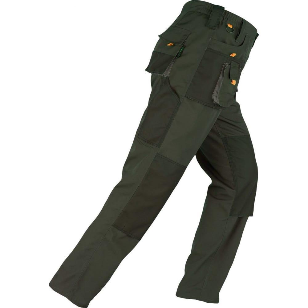 Брюки kapriol smart зеленые, р.xxl 31926Рабочие брюки<br>Тип: мужские брюки ;<br>Цвет: зеленый ;<br>Ткань: смесовая ;<br>Состав ткани: 60% хлопок, 40% полиэстер ;<br>Плотность ткани: 280 г/кв.м;<br>Размер: XXL ;<br>Рост: 188-194 см;<br>Световозвращающая полоса: нет ;<br>Тип застежки: молния ;<br>Единиц в упаковке: 1 шт.;<br>Вес модели: 1.1 кг;<br>Международный размер: XXL (54-56) ;