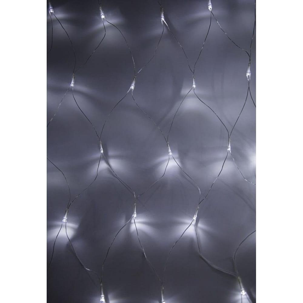 Купить Гирлянда neon-night сеть 1.8х1.5м, прозрачный пвх, 180led белые 215-135