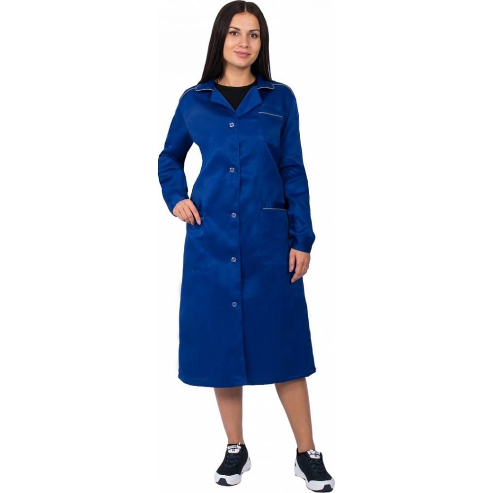 Купить Женский халат факел итр васильковый, р. 48-50, рост 158-164 см 50686000.022