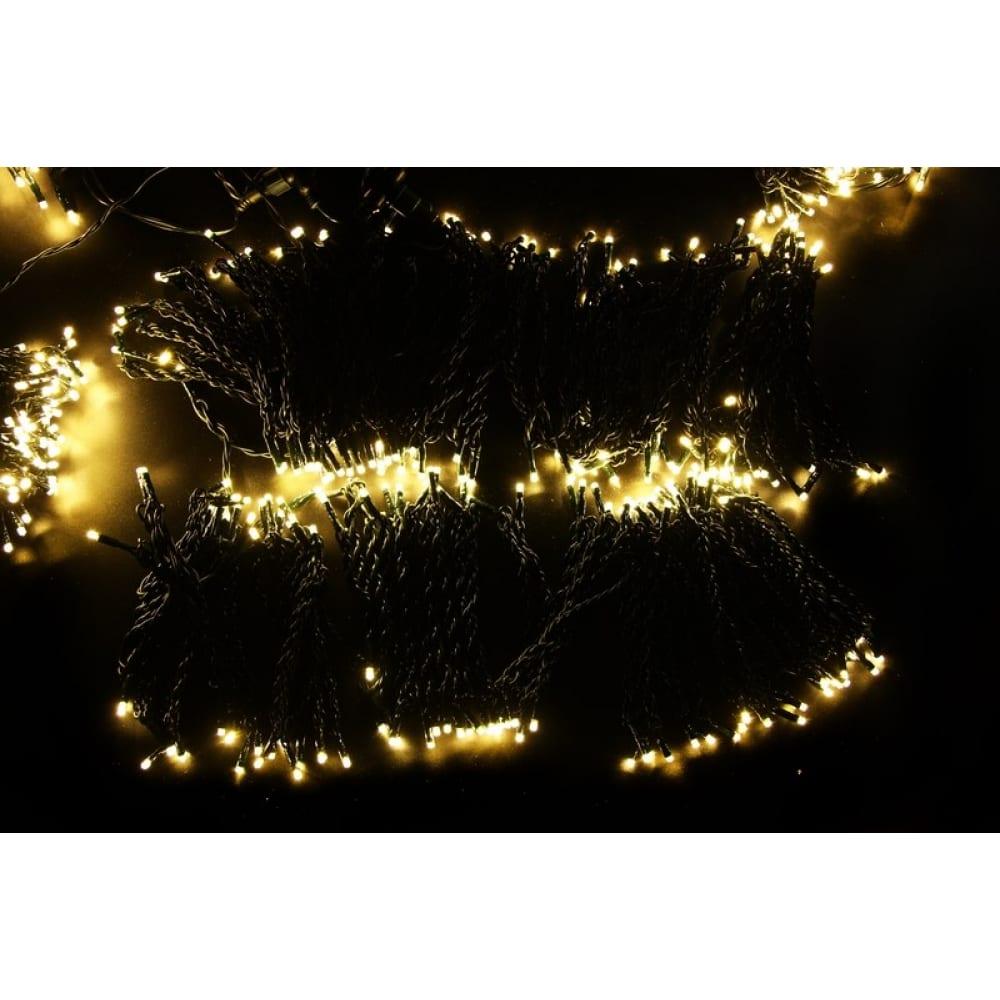 Купить Гирлянда neon-night клип лайт 24в, 5 нитей по 20 м, 665 led тепло-белые 323-506