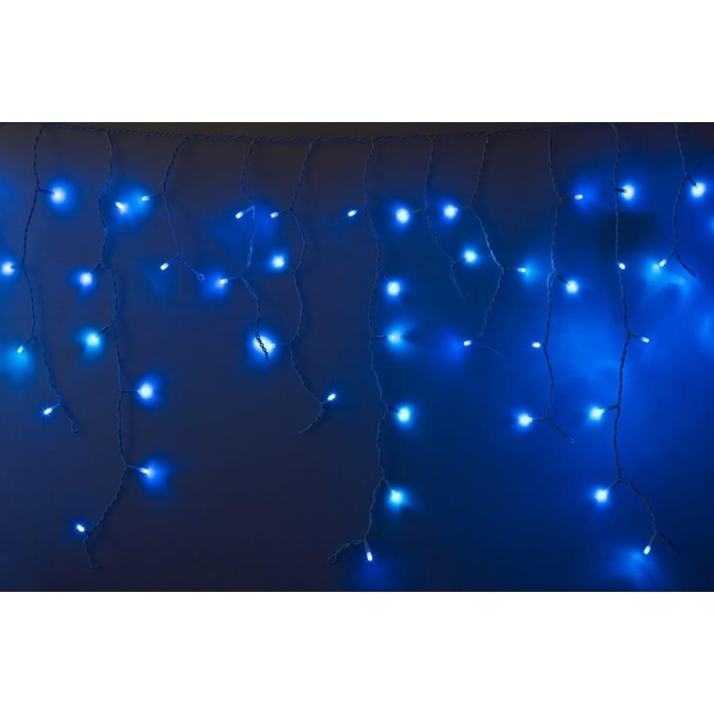 Гирлянда neon night айсикл бахрома, 2.4х0.6м, белый