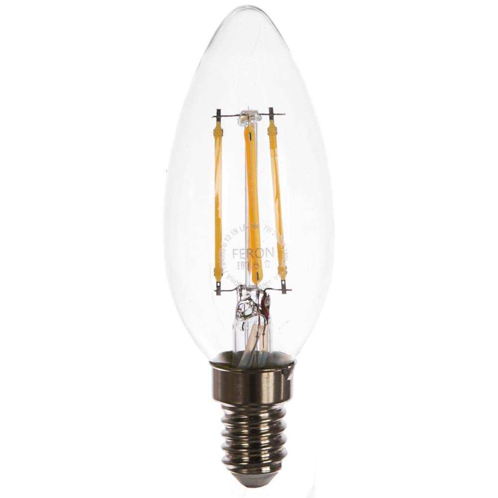 Купить Светодиодная диммируемая лампа feron lb-166 7w 230v e14 2700k 25870