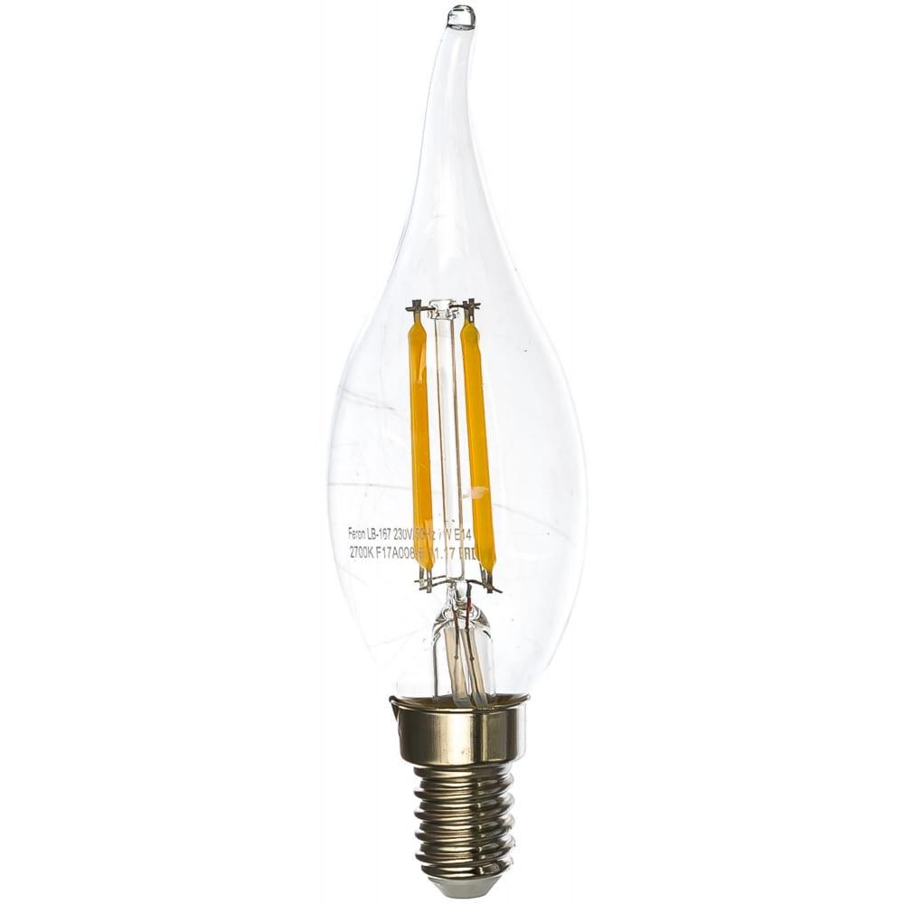 Купить Светодиодная диммируемая лампа feron lb-167 7w 230v e14 2700k 25872