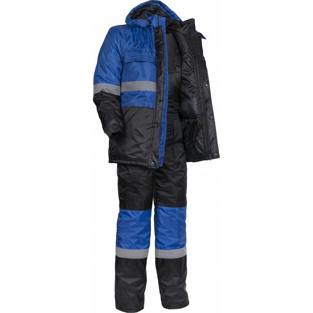 Купить Зимний костюм факел профи васильковый/черный, р. 60-62, 170-176 см 50730000.021