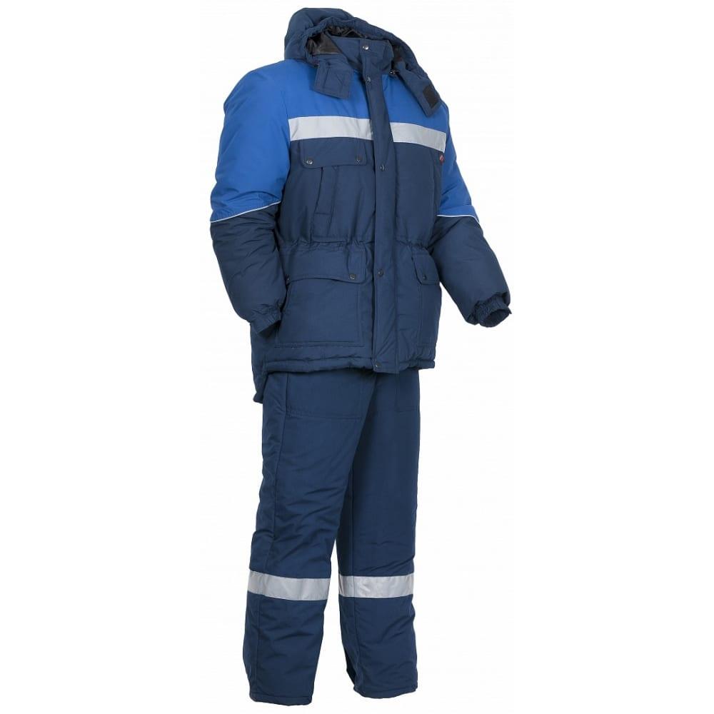 Зимний костюм факел сибер соп темно-синий/васильковый, р. 52-54, 182-188 см 87468920.006