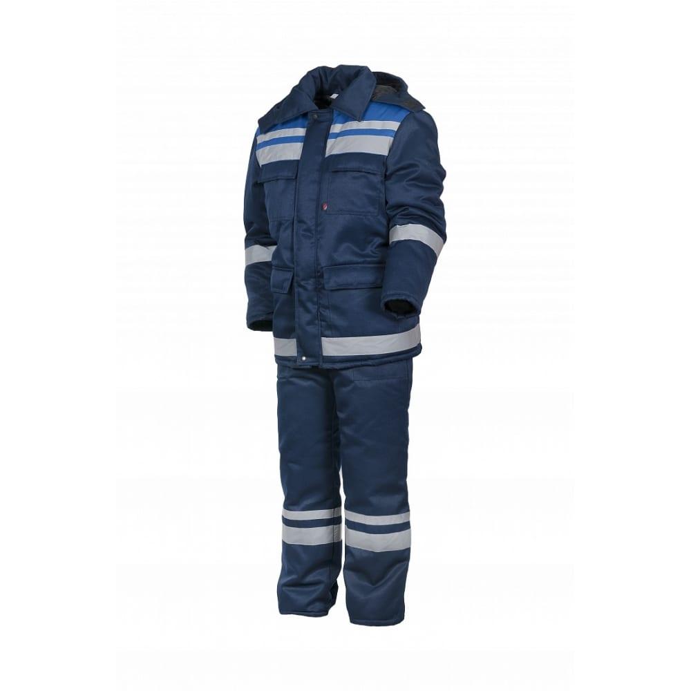 Купить Зимний костюм факел горизонт-люкс темно-синий/васильковый, р.56-58, рост 182-188 52913000.027