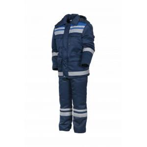 Зимний костюм факел горизонт-люкс темно-синий/васильковый, р.60-62, рост 170-176 52913000.028
