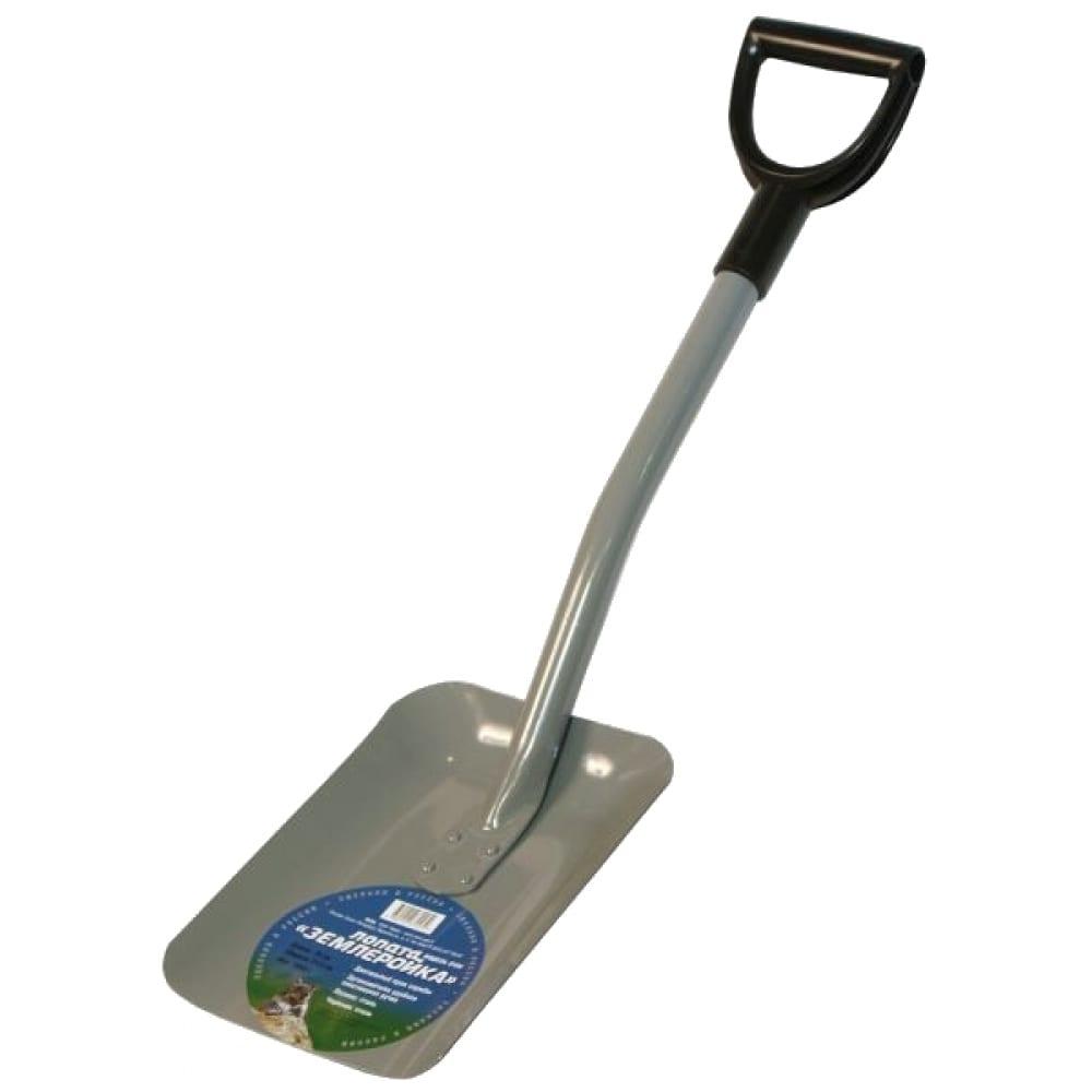Укороченная совковая лопата землеройка 0104