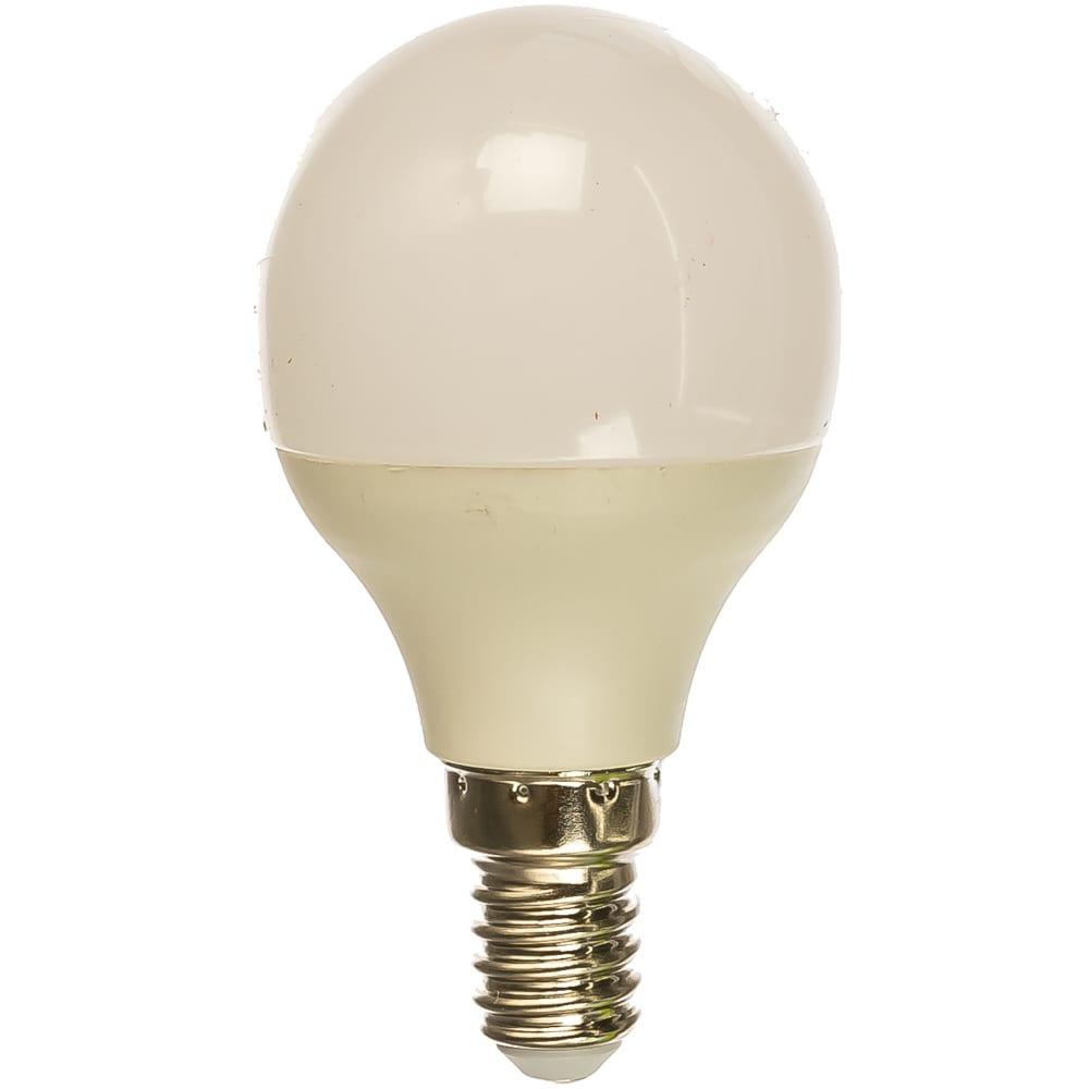 Купить Светодиодная лампа шар ergolux led-g45-7w-e14-3k 7вт e14 3000k 172-265в 12142