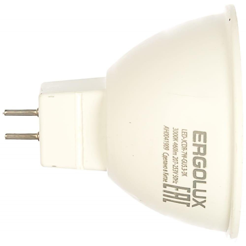 Купить Светодиодная лампа ergolux jcdr led-jcdr-7w-gu5.3-3k 7вт gu5.3 3000k 172-265в 12158