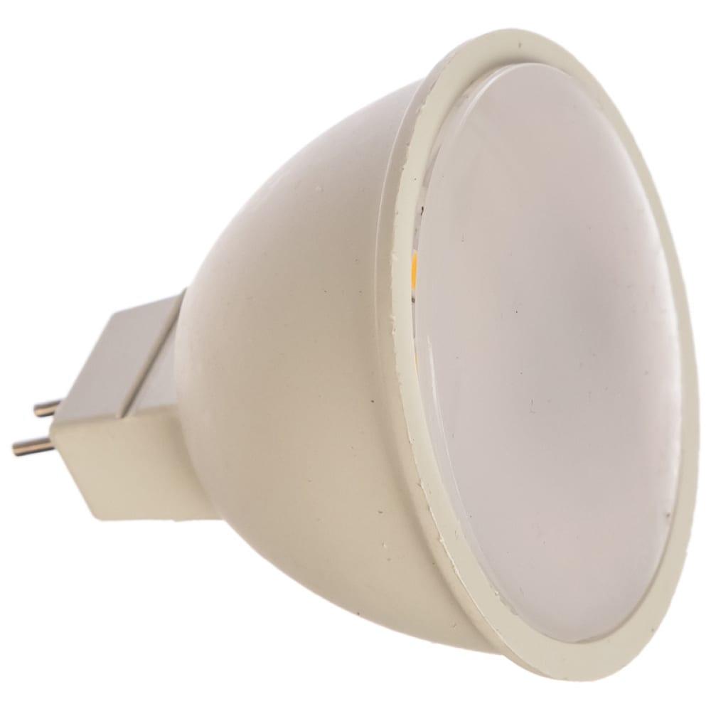 Купить Светодиодная лампа ergolux jcdr led-jcdr-7w-gu5.3-4k 7вт gu5.3 4500k 172-265в 12159