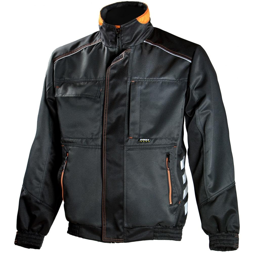 Куртка dimex 668-mКуртки<br>Тип: мужская ;<br>Ткань: смесовая ;<br>Состав ткани: полиэстер -70%, хлопок - 30% ;<br>Плотность ткани: 245 г/кв.м;<br>Размер: 50 ;<br>Рост: 179-185 см;<br>Пропитка: водо- грязеотталкивающая ;<br>Световозвращающая полоса: есть ;<br>Капюшон: нет ;<br>Тип застежки: молния ;<br>ГОСТ\ТУ: Декларация ТС ;<br>Единиц в упаковке: 1 шт.;<br>Цвет: черный ;<br>Международный размер: M (48-50) ;<br>Вес модели: 1 кг;<br>Защитные свойства: защита от общих производственных загрязнений,  защита от истирания ;
