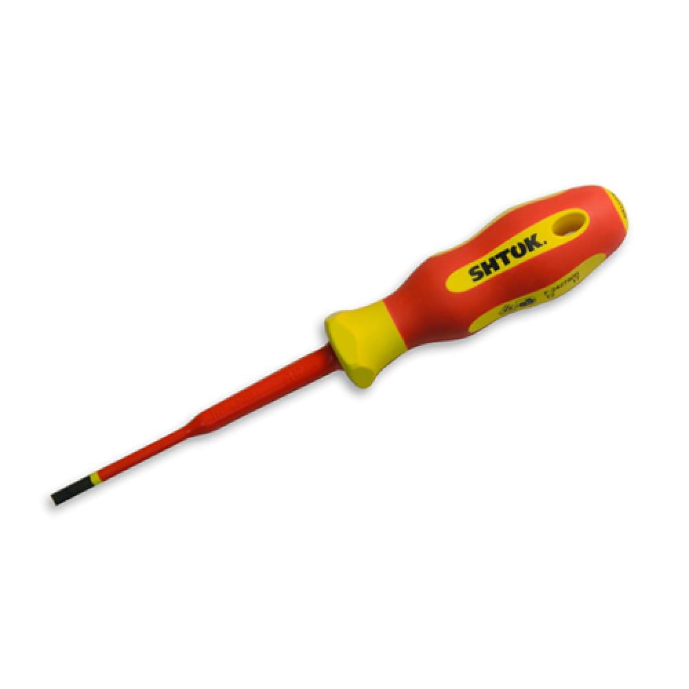 Купить Диэлектрическая отвертка sl 0.8х4х100 мм shtok 09312