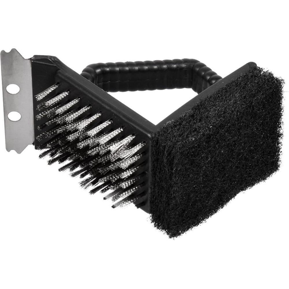 Щетка для чистки гриля (скребок, щетка, губка) boyscout 61334